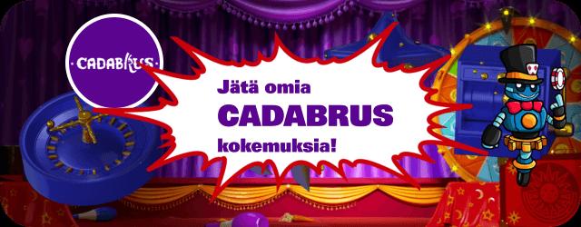 Cadabrus Casino kokemuksia