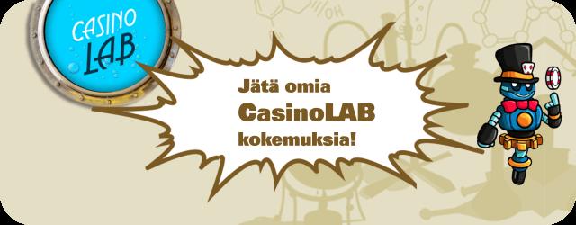 Casino LAB kokemuksia