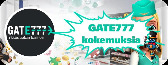 Gate777 kokemuksia