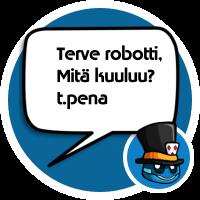 Ota yhteyttä kasinorobottiin