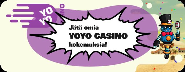 YoYo Casino kokemuksia